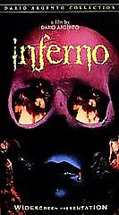 Inferno (VHS, 1999) MINT  Dario Argento  Authentic Anchor Bay  Clamshell Case