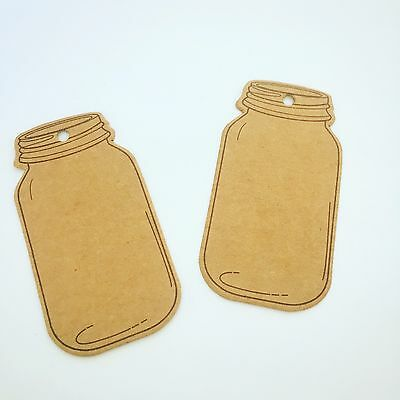 Jam Jar Craft Luggage Gift Tags Pack of 10