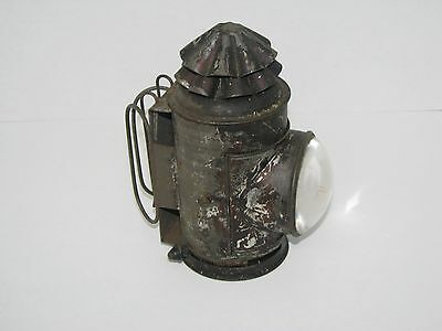 Antique Dietz Police Lantern Bulls-Eye Lense