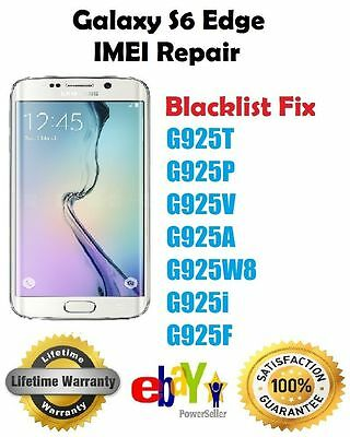 Samsung IMEI remote repair SEE MODELS, S6/edge /edge plus/ note 5 T-Mobile, At&t