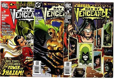 Day Of Vengeance #1-6 Complete Set (2006) DC VF/NM To NM