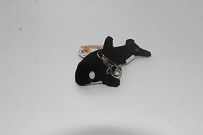 Whale Soft Toy Keyring Mobile Phone Charm