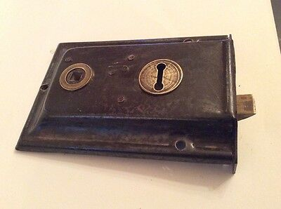 Antique Rim Lock  Door Latch Lock