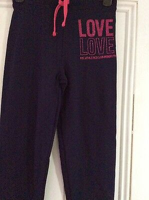 Brand new girls jogging bottoms, age 9-10 years