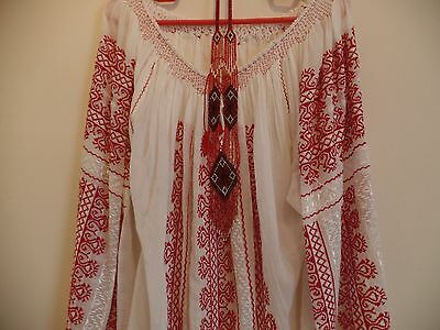 Beautiful traditional hand embroidered, beaded  unique blouse