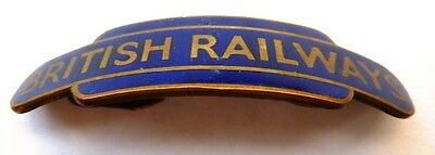 British Railways Eastern Region 1950s Totem Cap Badge