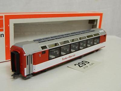 D&R Modellbahn HOm FO 1st Class Observation Coach Glacier Express 4014 Bx 74014