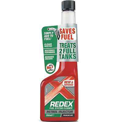 Redex Petrol Injector Cleaner 250ml Reduce Exhaust Emissions & Engine Noise