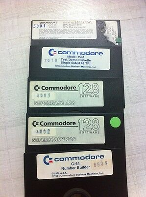 Commodore 128--- floppy disk system--lotto
