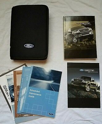 2007 Ford F-150 Owner's Owners Manual User Guide Book