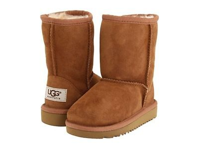 c2b8206e522 GIRLS UGG BOOTS T Classic 5251T Chestnut (Che) Toddler Size 7