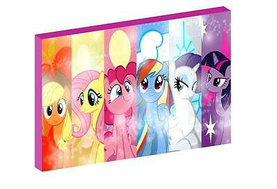 """MY LITTLE PONY e 12""""X16"""" (A3) CANVAS PICTURE"""