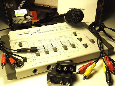 CAMLINK VISION 200 Pics & Sound editor kit boxed, microphone/cables etc Exc Cond