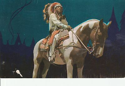 LAM (O) Elko, NV - Indian Chief on Horse
