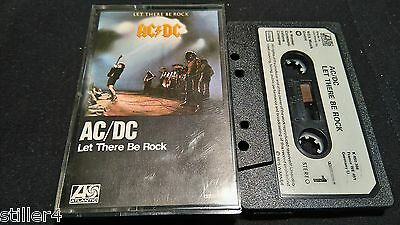 AC/DC Let There Be Rock *RARES DEUTSCHES MC TAPE*1975