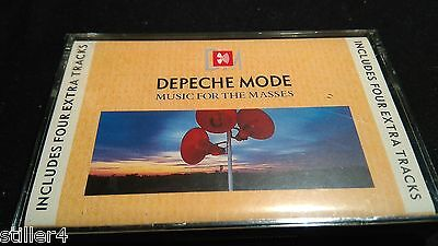 DEPECHE MODE Music For The Masses *INCLUDES 4 EXTRA TRACKS*MC TAPE*MINT*