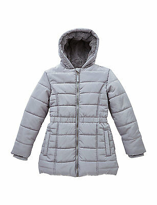 MARKS AND SPENCER GIRLS Hooded Short Padded Thermal Coat with Stormwear 9-10 YRS