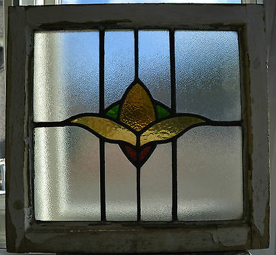 Art deco leaded light stained glass window. R406. WORLDWIDE DELIVERY!!!