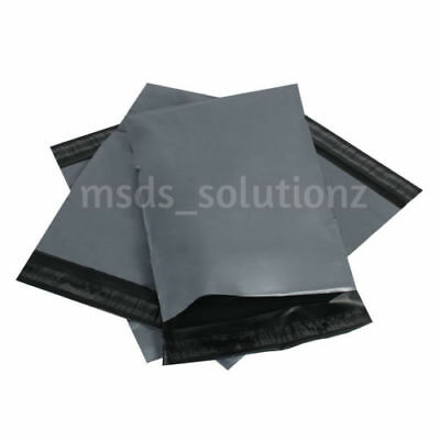 "STRONG GREY MAILING 4.5x7""/11.4x17.7cm SMALL PACKAGING BAGS POLYTHENE SELF SEAL"