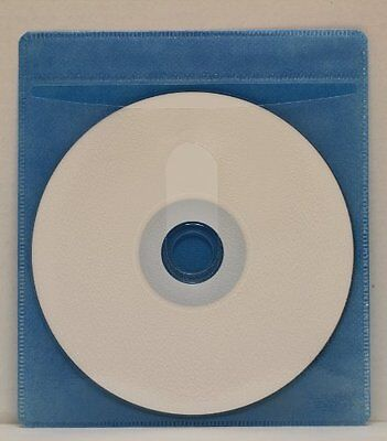 100 CD Double-sided Plastic Sleeve Blue