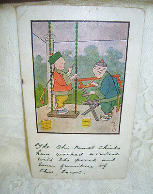 Antique Chinese  Postcard
