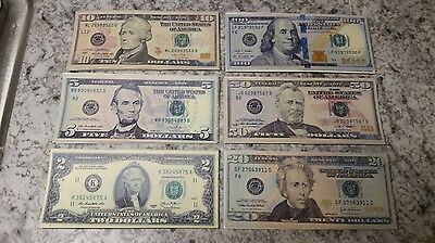 $100/50/20/10/5/2 Bills. Best Novelty Movie Prop Play Money Fake Prank Joke!