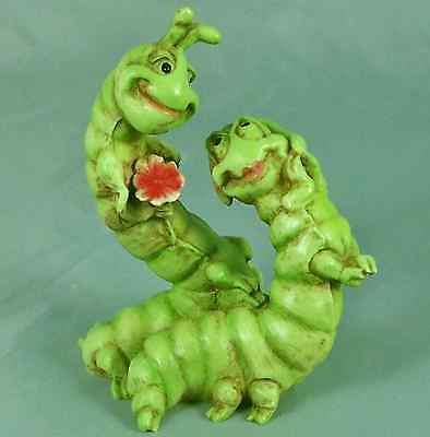 Castagna Caterpillars Anthro Butterfly Pair MIB New Love Figurine Ol Store Stock