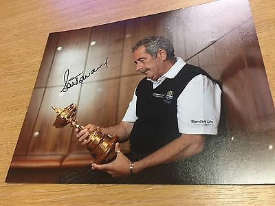 SAM TORRANCE GOLF LEGEND SIGNED 10x8 Photo Comes With COA