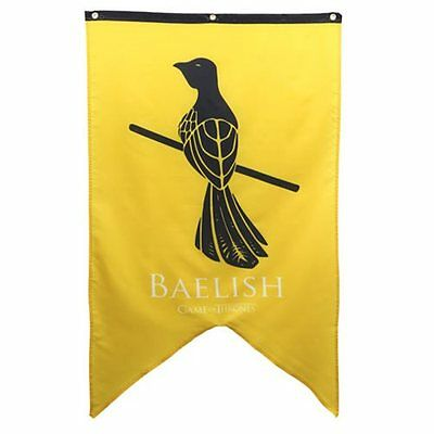 Game of Thrones * Baelish Sigil Banner * Littlefinger 30x50 Fabric Poster Print