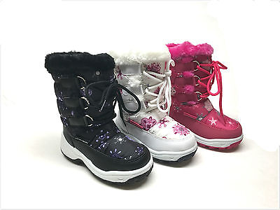New Toddler Girl's Fashion Winter Snow Boots Size 6 - 11