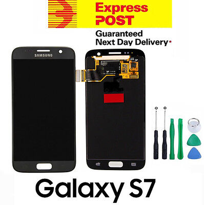 LCD Display Digitizer Touch Screen Assembly for Samsung Galaxy S7 G930 Black