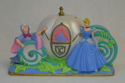 Cinderella's Pumpkin Carriage Coach With Fairy God mother Piggy Bank