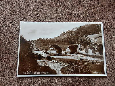 Real Photo Postcard-Bridge of Allan Stirling - Scottish Highlands
