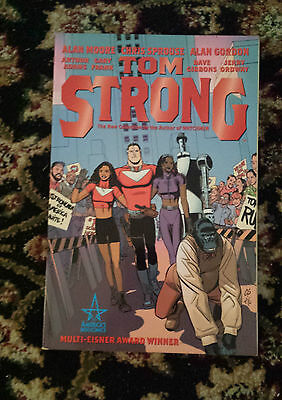 Tom Strong Collected Edition Book 1 - Graphic Novel - Alan Moore