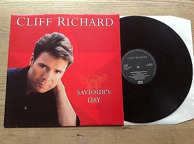 Cliff Richard Saviour's Day 3Tk 1990 12Inch Single*near Mint* Cliff At Christmas