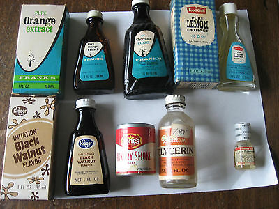 11 Vintage Spices and Extracts