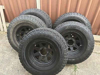 Rims And Tyres  15/10.5/R15  On 15x7jj Steel Rims