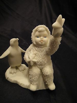 Snowbabies 'wishing On A Star' 1990-1994 Department 56 Excellent Condition