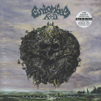 Entombed AD - Back To The Front, Vinyl LP + Poster NEW (unsealed)