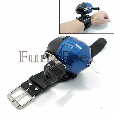 Slingshot Fishing Spinning Spincast Reel Model 10S 1 Pin + Protective Wristband