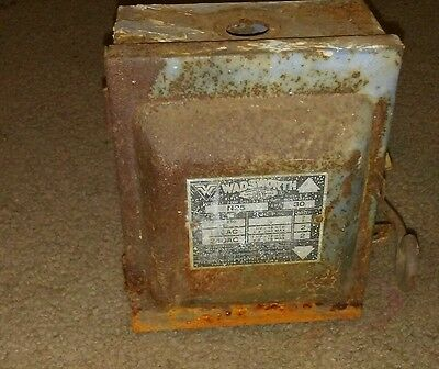 Wadsworth NOS Safety Switch n25 2 fuse box vintage