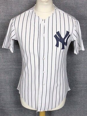 #6 Vintage Wilson New York Yankees Baseball Jersey Shirt Youths Large