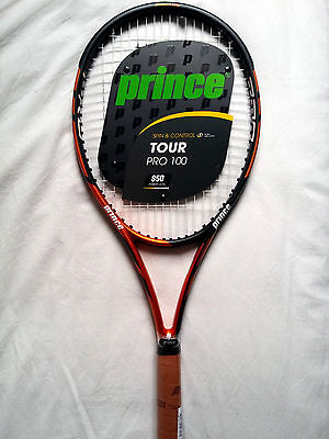 Raquette Neuf PRINCE TOUR PRO 100 Grip 2 (US 4 1/4) NEW Racket Strung