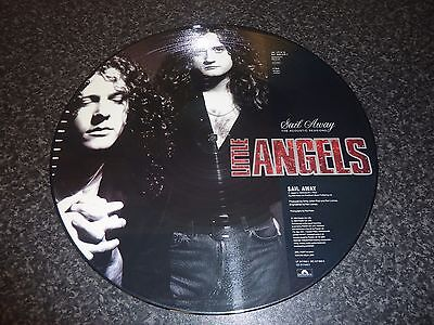 """Little Angels 12"""" Picture Disc 'sail Away' The Acoustic Sessions Excellent/mint"""