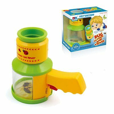 Kidcia Microscopes for kids - Bug Catcher and Viewer - Educational & Scientific