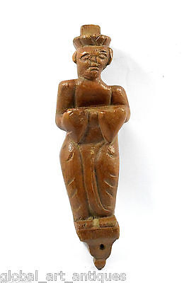 Vintage Decor Collectible Hand Carved Popular Man Playing Music Figure. G62-107
