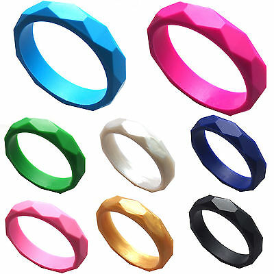 Be Silicone Newborn Baby Kids Teether Teething Jewelry Bangle Bracelets Fashion