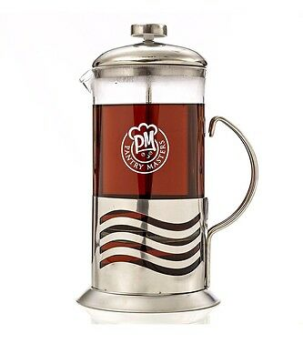 French Press Coffee Maker 34oz 8 Cup Stainless Steel Double Filter