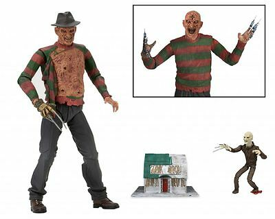 FREDDY KRUEGER Ultimate Deluxe Figur 18cm OVP NECA Elm Street 3 Dream Warriors