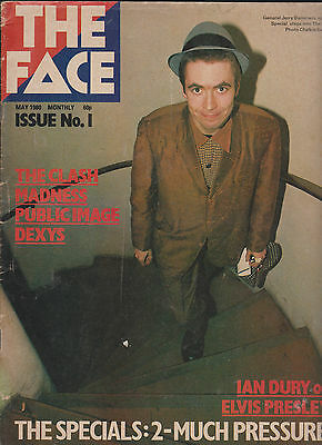 The Face Magazine - issues 1,2 & 3. ORIGINALS, not repros